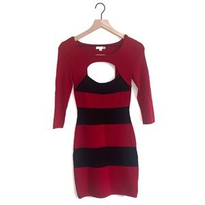 Guess Women's Ribbed Bodycon Dress